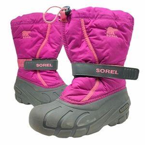 Sorel Flurry TP Winter Boots Tropical Pink…